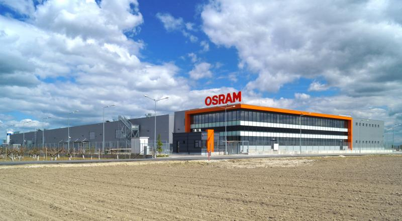 State-of-the-art production plant for OSRAM